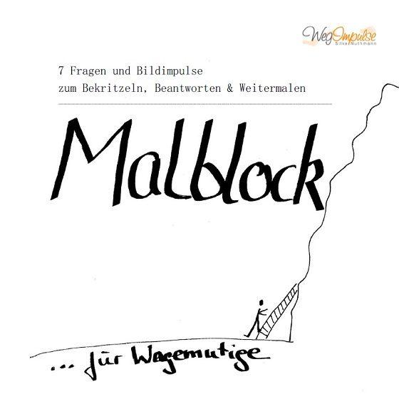 Malblock-Wagemut-Titel
